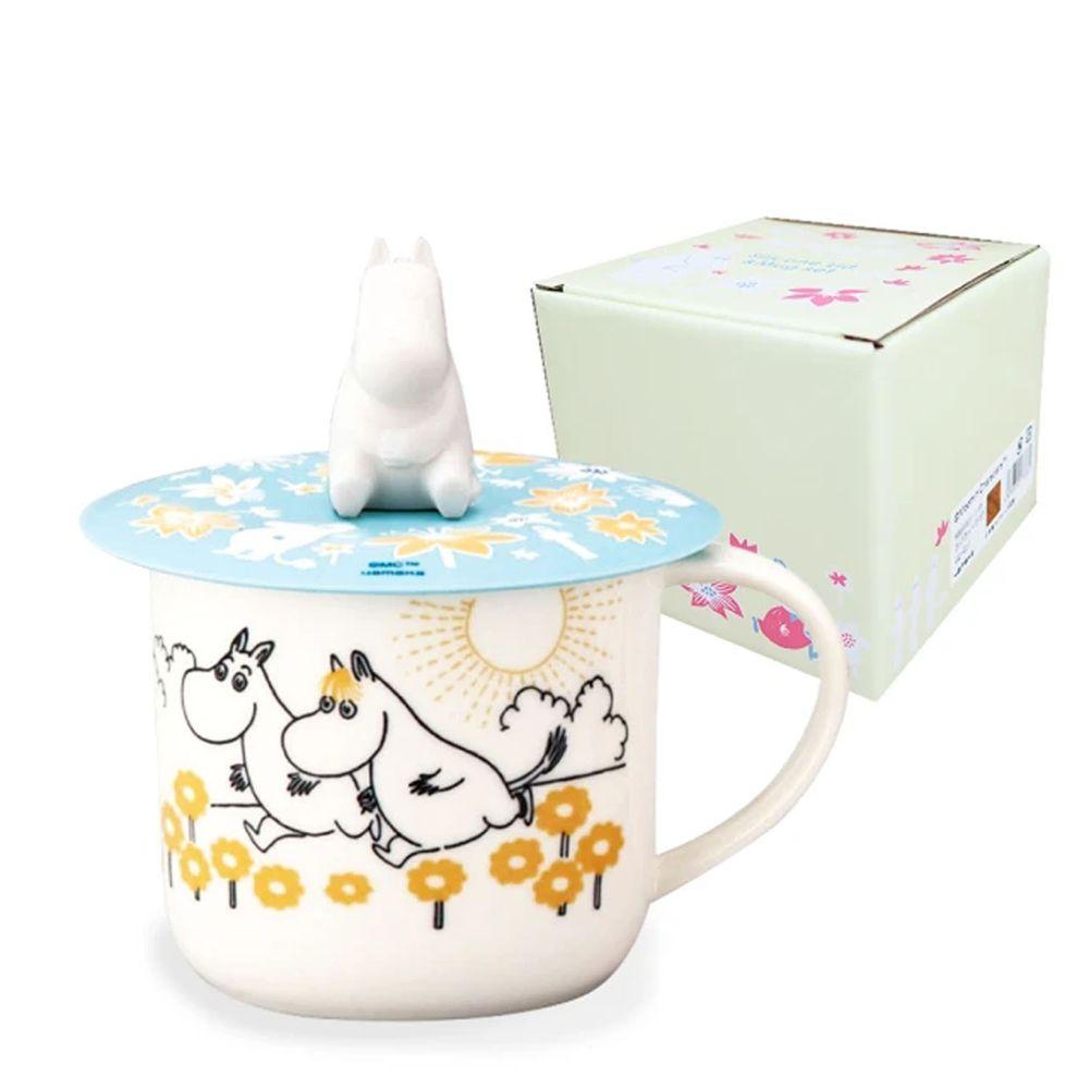 日本山加 yamaka - moomin 嚕嚕米彩繪陶瓷馬克杯禮盒-嚕嚕米-MM3001-11P