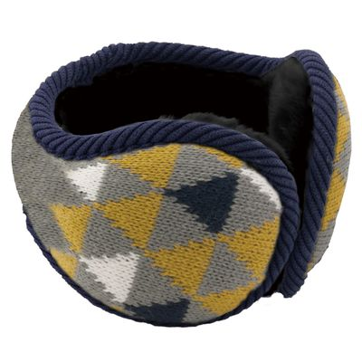 Tehtava後戴式耳罩(成人款)-三角-芥末黃