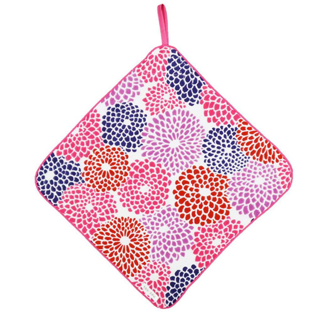 日本代購 - 【SOU·SOU】日本製今治純棉擦手巾-綻放 (32x32cm)