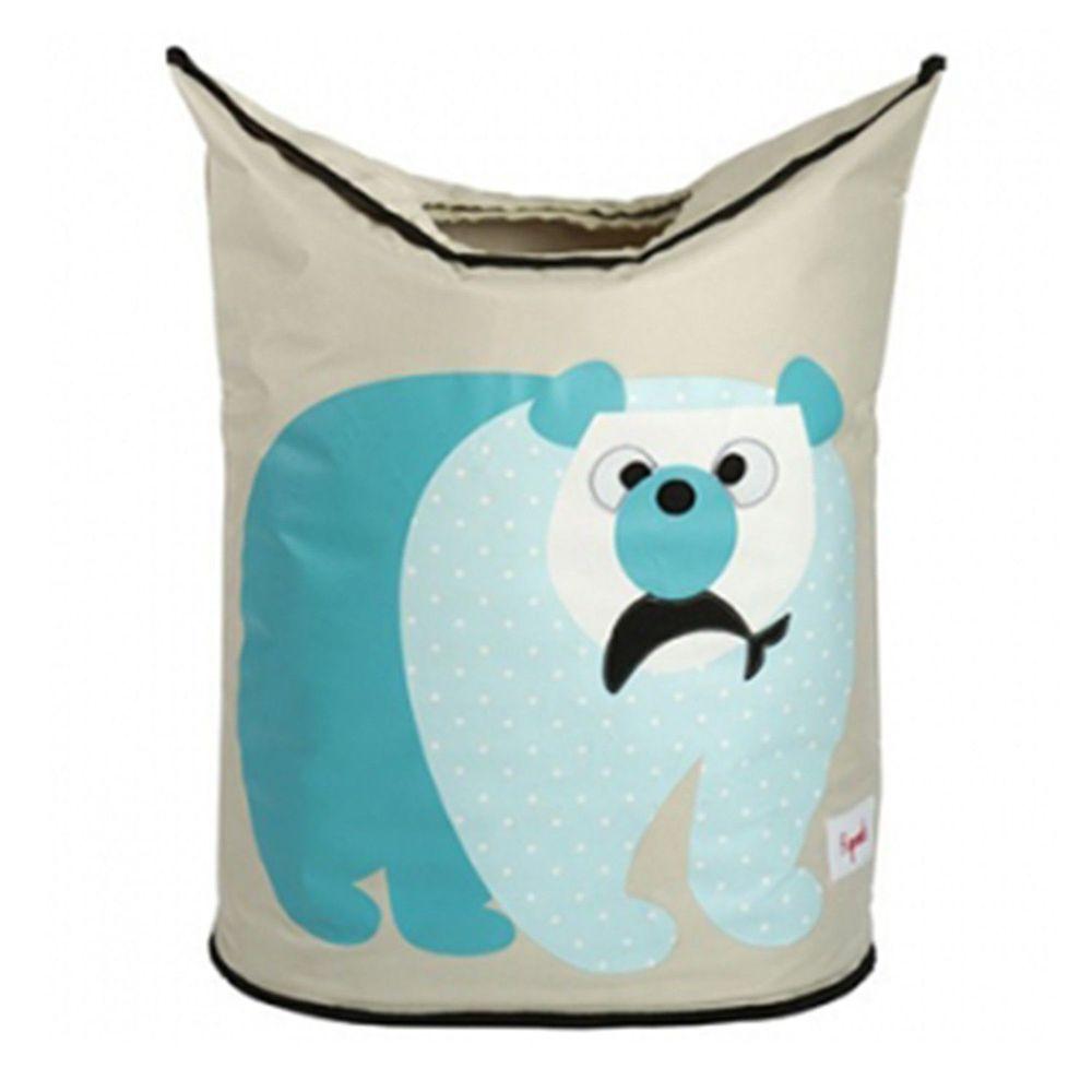 加拿大 3 Sprouts - 洗衣籃-藍天白熊