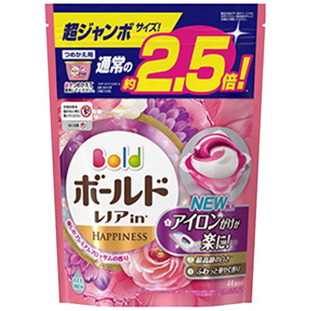 日本 P&G - 2019最新版-洗衣膠球-牡丹香氛-44顆入/袋(849g)