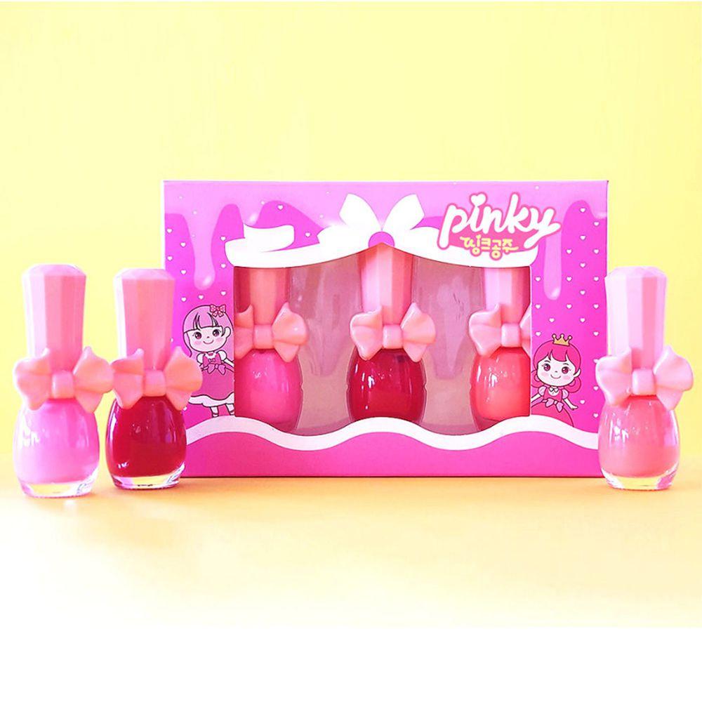 韓國 Pink Princess - 經濟小禮盒(指甲油*3)-Set B