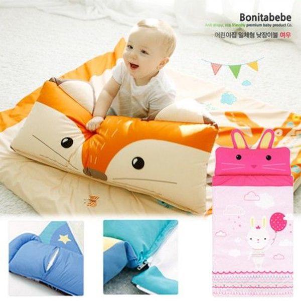 韓國 Bonitabebe 動物造型睡袋 ★ 超過百位媽咪五星好評!
