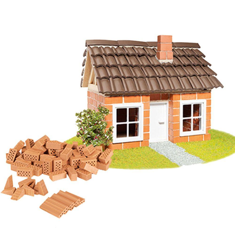 德國 teifoc - 益智磚塊建築玩具-瓦房-TEI4300-團購專案