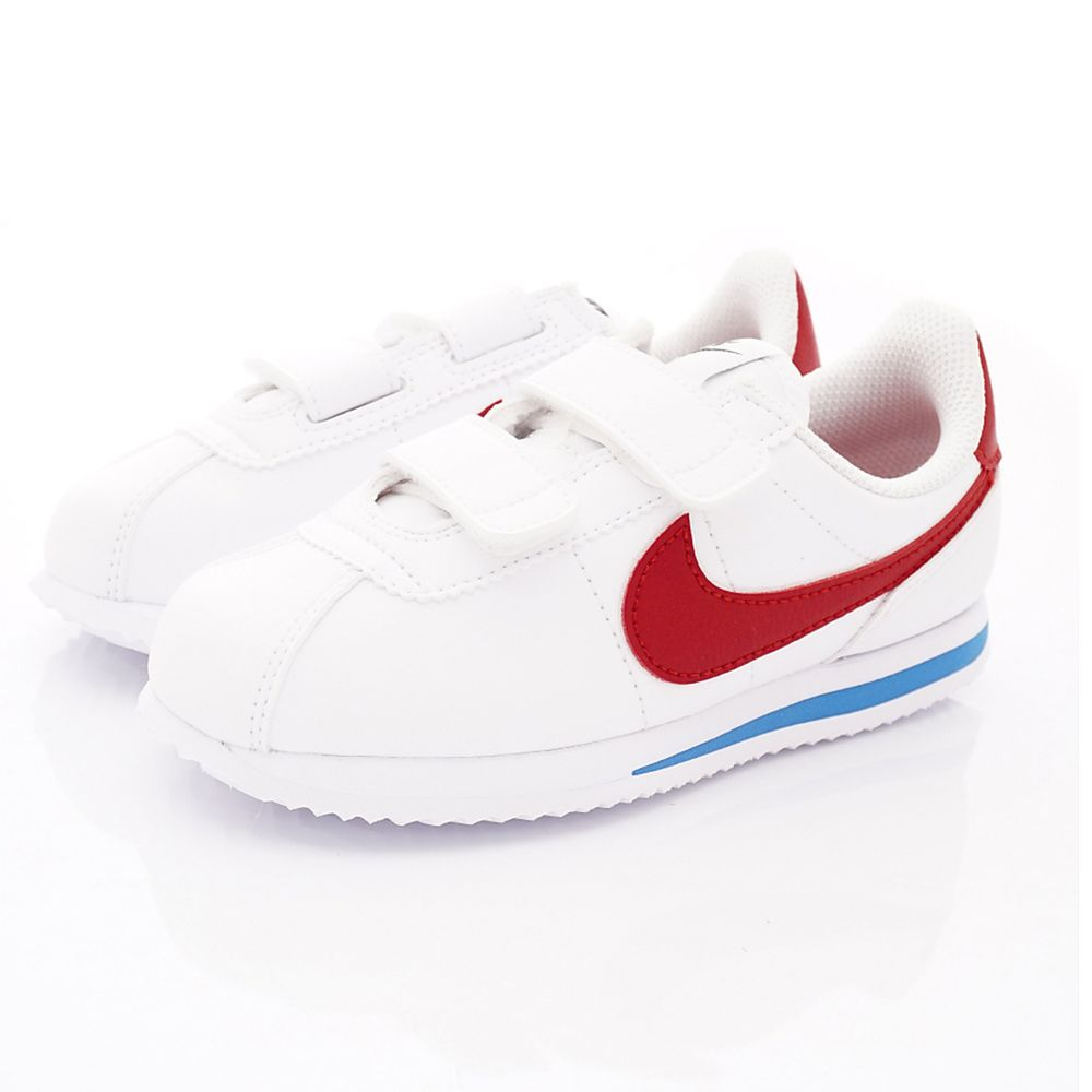 NIKE - 經典耐吉阿甘鞋2020版-中童段-白紅