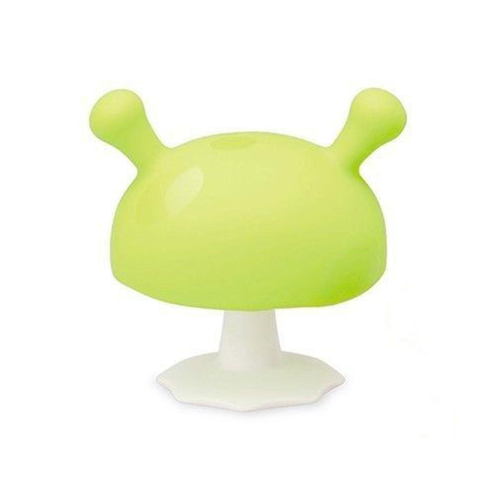 英國 mombella - Q比蘑菇固齒器-綠色