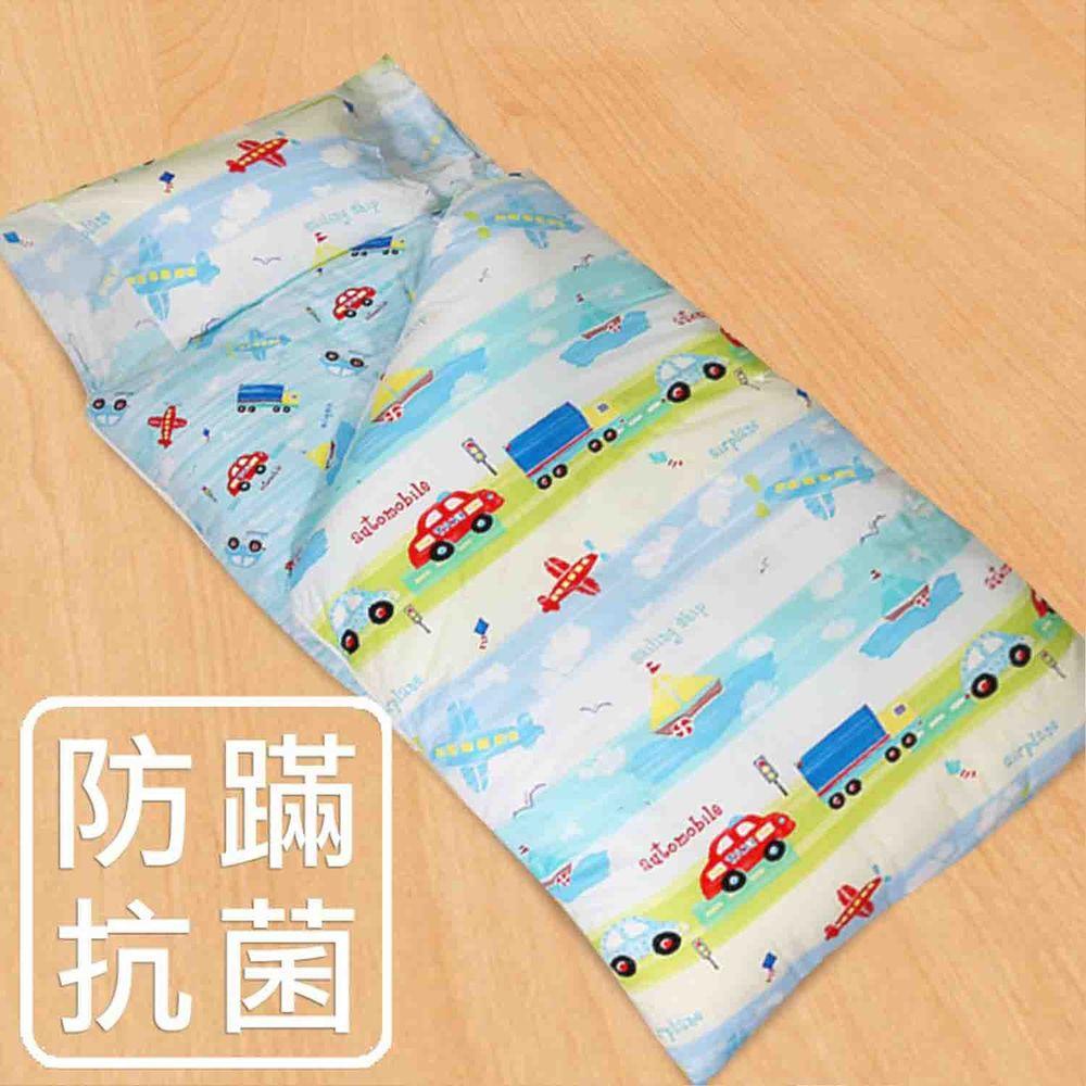 鴻宇HONGYEW - 防螨抗菌100%美國棉鋪棉兩用兒童睡袋-夢想號-1573