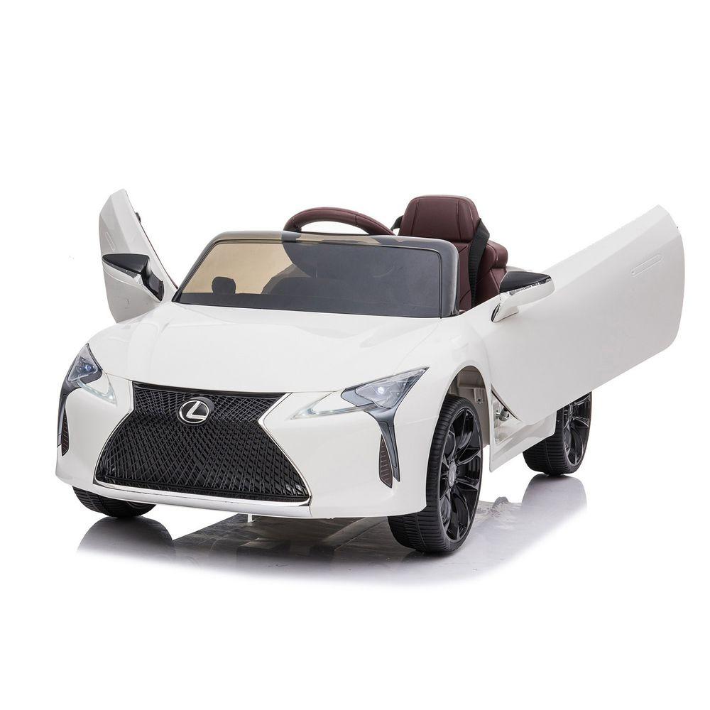 Ching Ching - LEXUS LC500兒童電動車(原廠授權)-白色