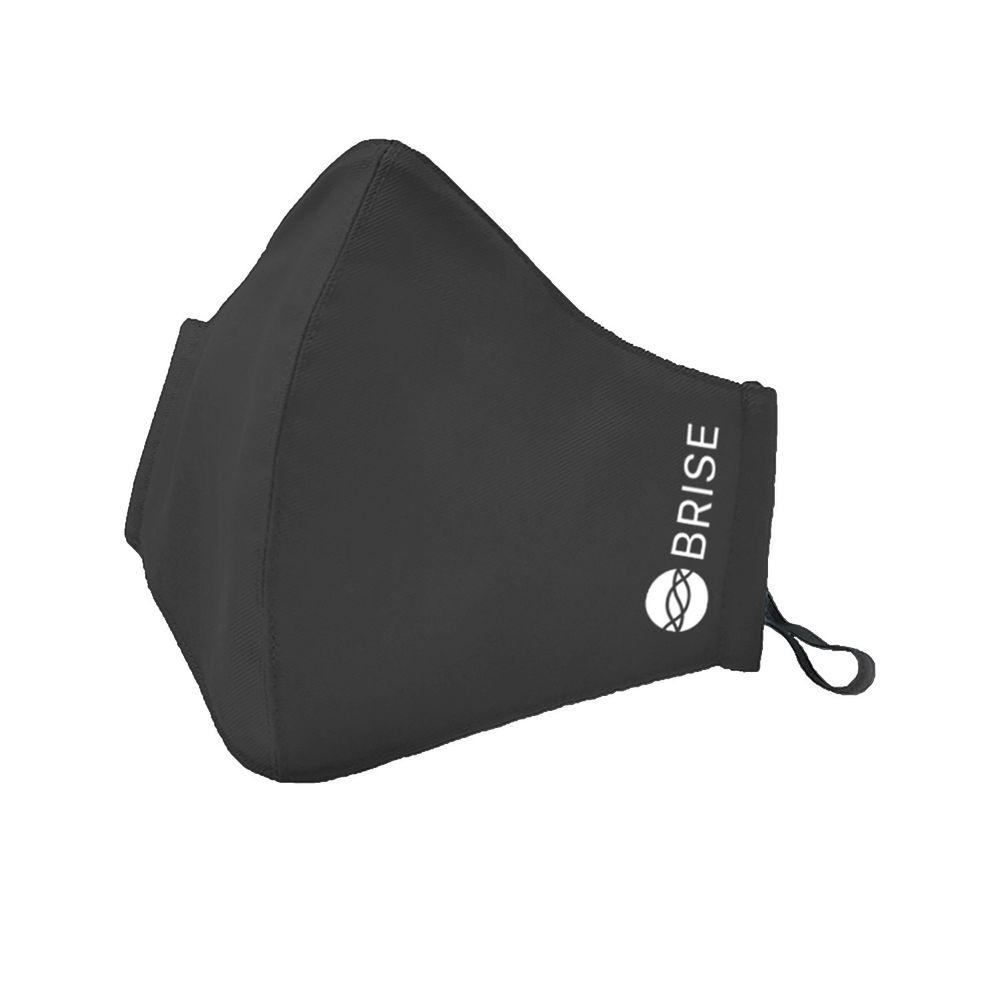 荷蘭 BRISE - 成人抗霾抗敏布織口罩(霧黑)