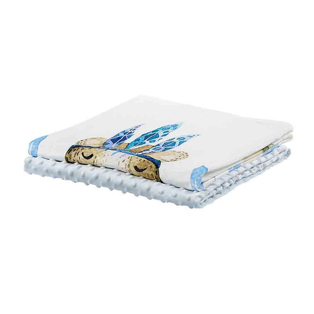 柔仕 - 舒眠豆毯 薄款-溫和熊寶