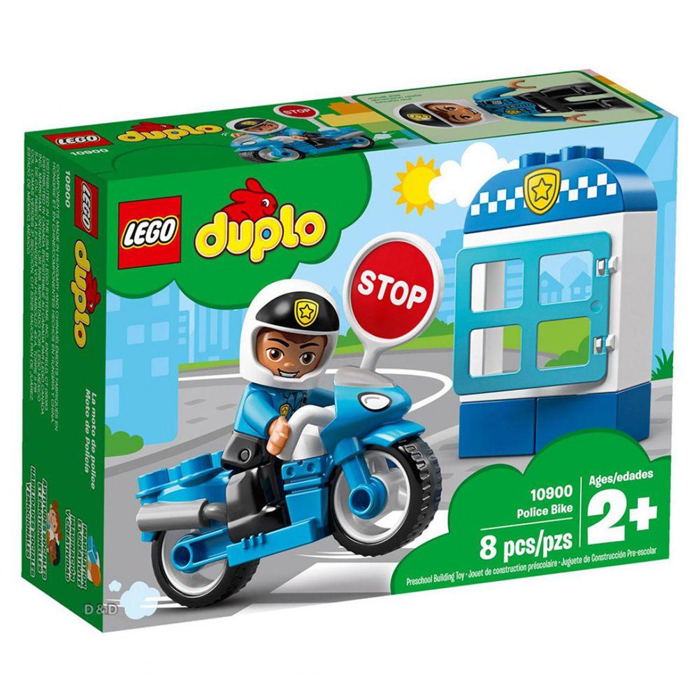 樂高 LEGO - 樂高 Duplo 得寶幼兒系列 - 警察摩托車 10900-8pcs