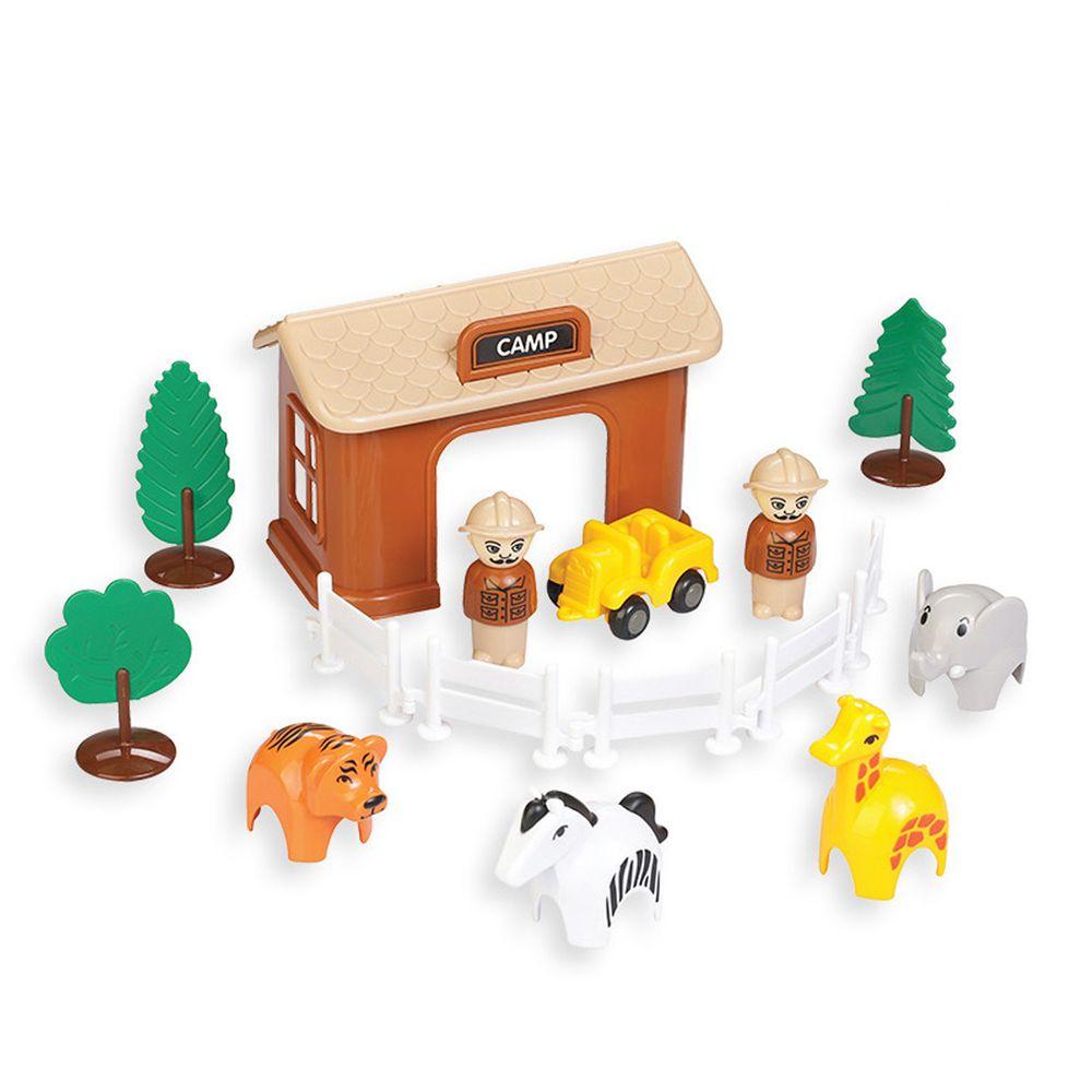 瑞典Viking toys - 【新品】野生動物園