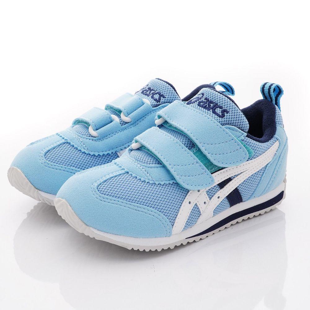 asics 亞瑟士 - 機能童鞋/運動鞋-雙絆帶後穩定機能款(中小童段)-天空藍