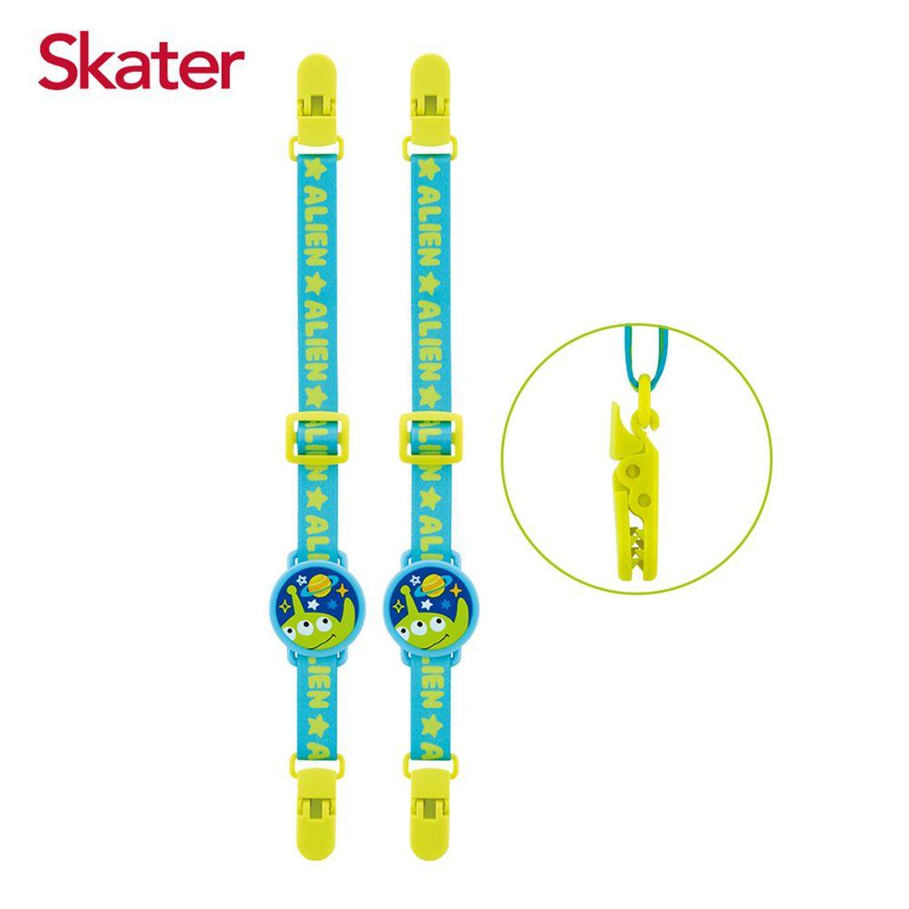 日本 SKATER - 雙夾固定帶2入組-三眼怪