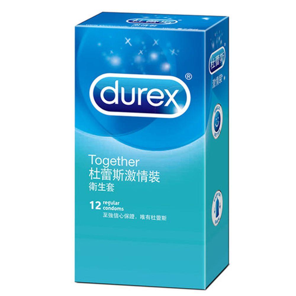 Durex 杜蕾斯 - 保險套-激情-12入