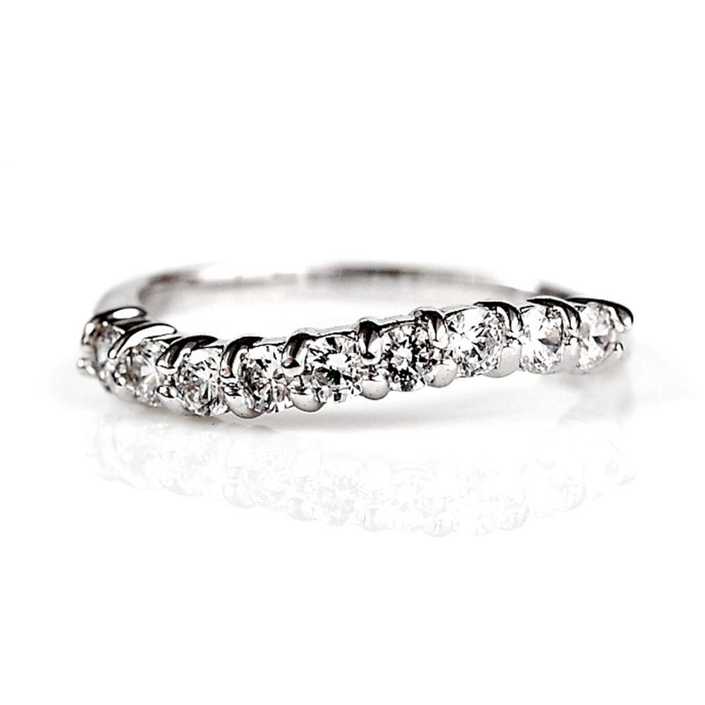 美國ILG鑽飾 - NYC情定紐約戒指 – 頂級美國ILG Diamond,媲美真鑽亮度的鑽飾【RI037】-加贈高級珠寶級絨布盒1個-外國抗敏材質電鍍頂級白K金色