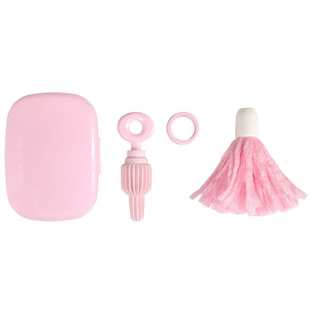 akachan honpo - 搖一搖奶瓶刷-粉紅色
