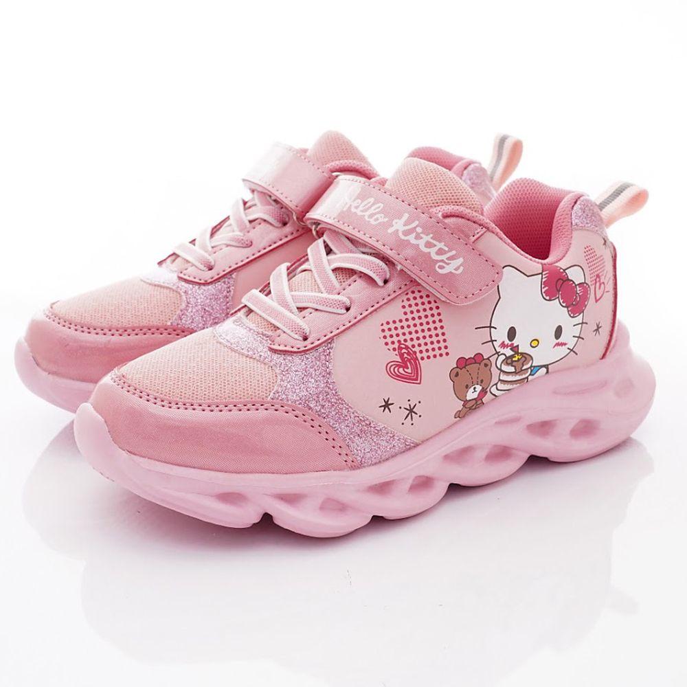 HELLO KITTY - 凱蒂輕量運動鞋款(中大童段)-粉
