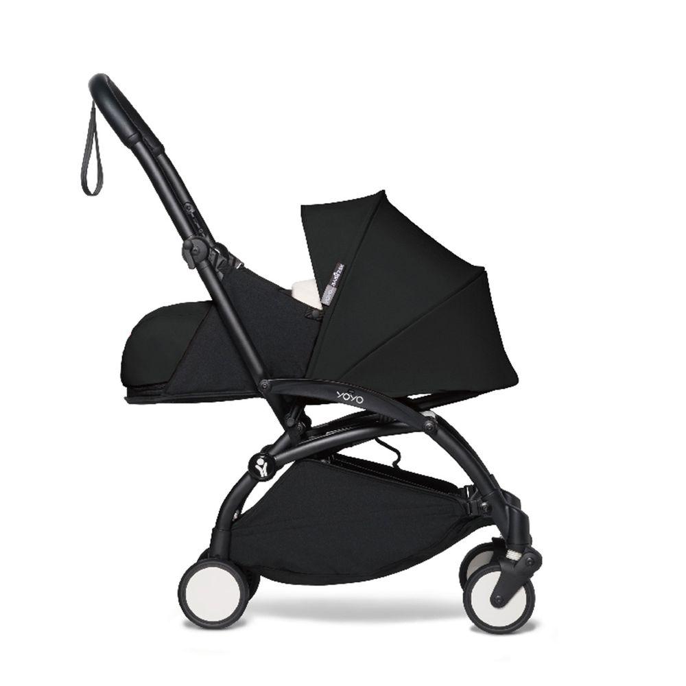 法國BABYZEN - YOYO² 嬰兒手推車0+-黑管-黑-0m+