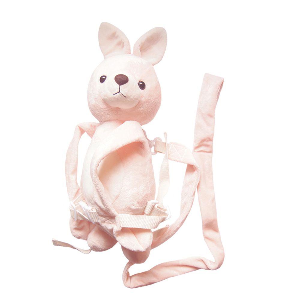akachan honpo - 防走失背包-兔子-粉紅色