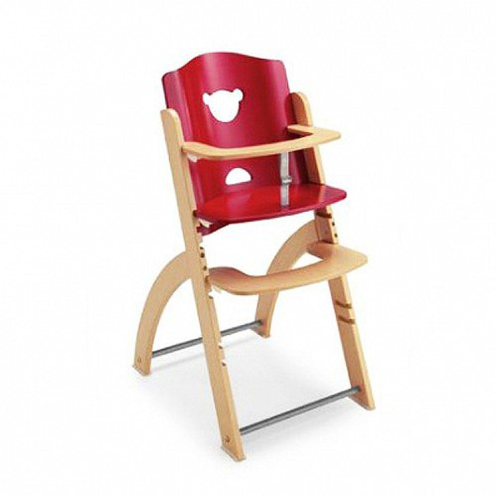 義大利 Pali - Pappy Re 熊寶寶成長餐椅-紅色-單椅
