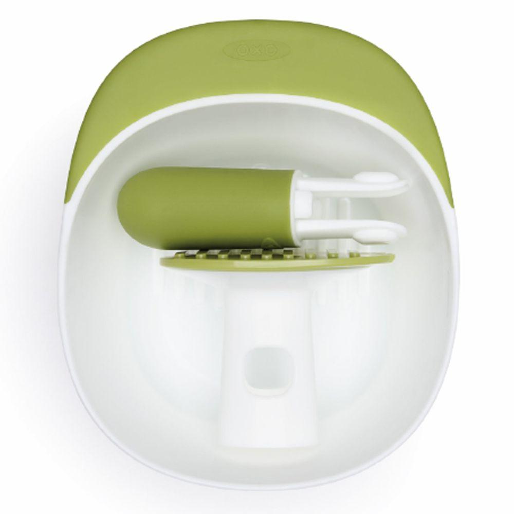 美國 OXO - OXO tot 好滋味研磨碗-青蘋綠