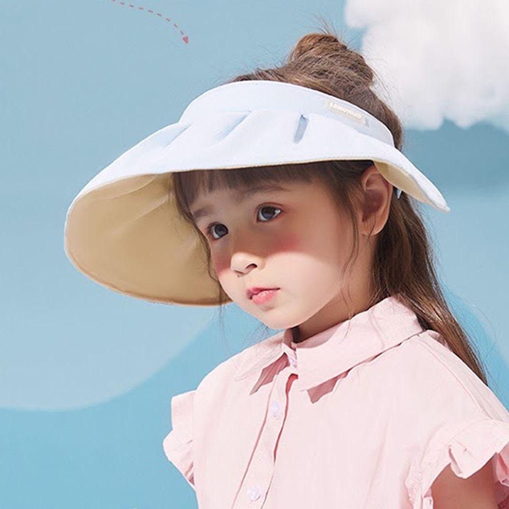 韓國Lemonkid - 空頂貝殼帽(二用)-天空藍