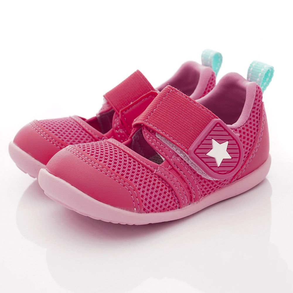 Moonstar日本月星 - HI系列快速乾燥機能童鞋-寶寶段-粉