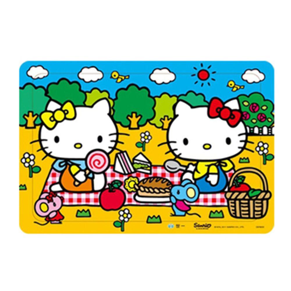 世一文化 - Hello Kitty快樂野餐拼圖(80片)