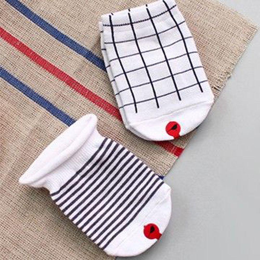 韓國 Kokacharm - 韓國製船型襪-五件組-Easy Socks