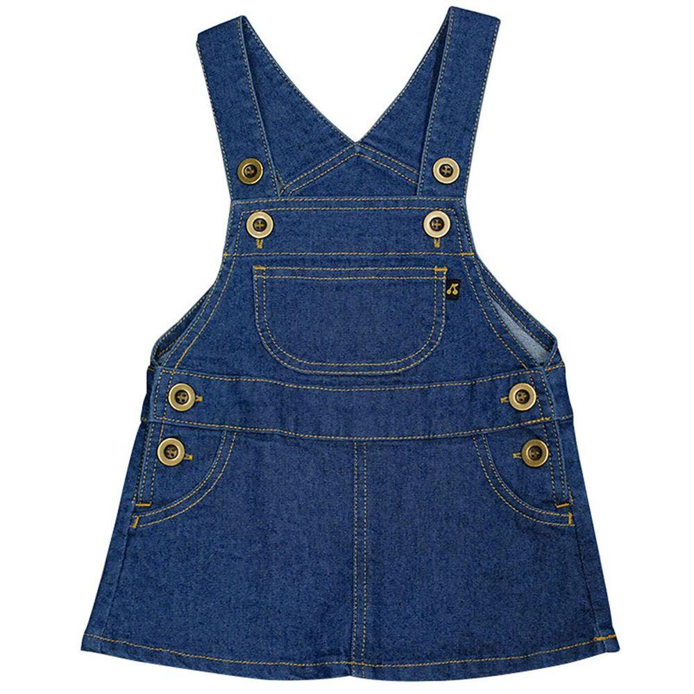 akachan honpo - 背心裙-藍色