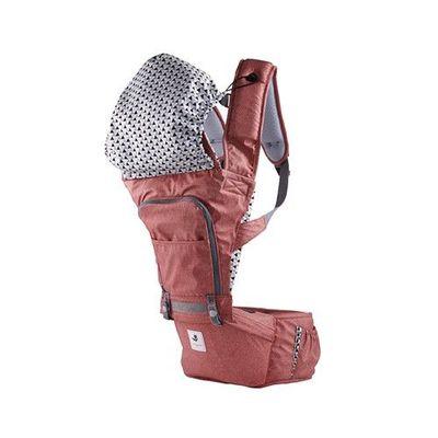 韓國 POGNAE - NO.5 超輕量機能坐墊型背巾-紐約紅