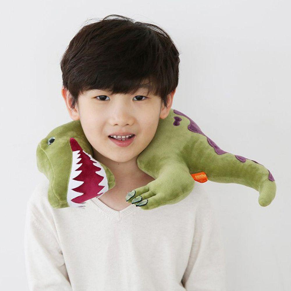 韓國PROM - 恐龍造型枕-綠色棘龍 (36*34CM)