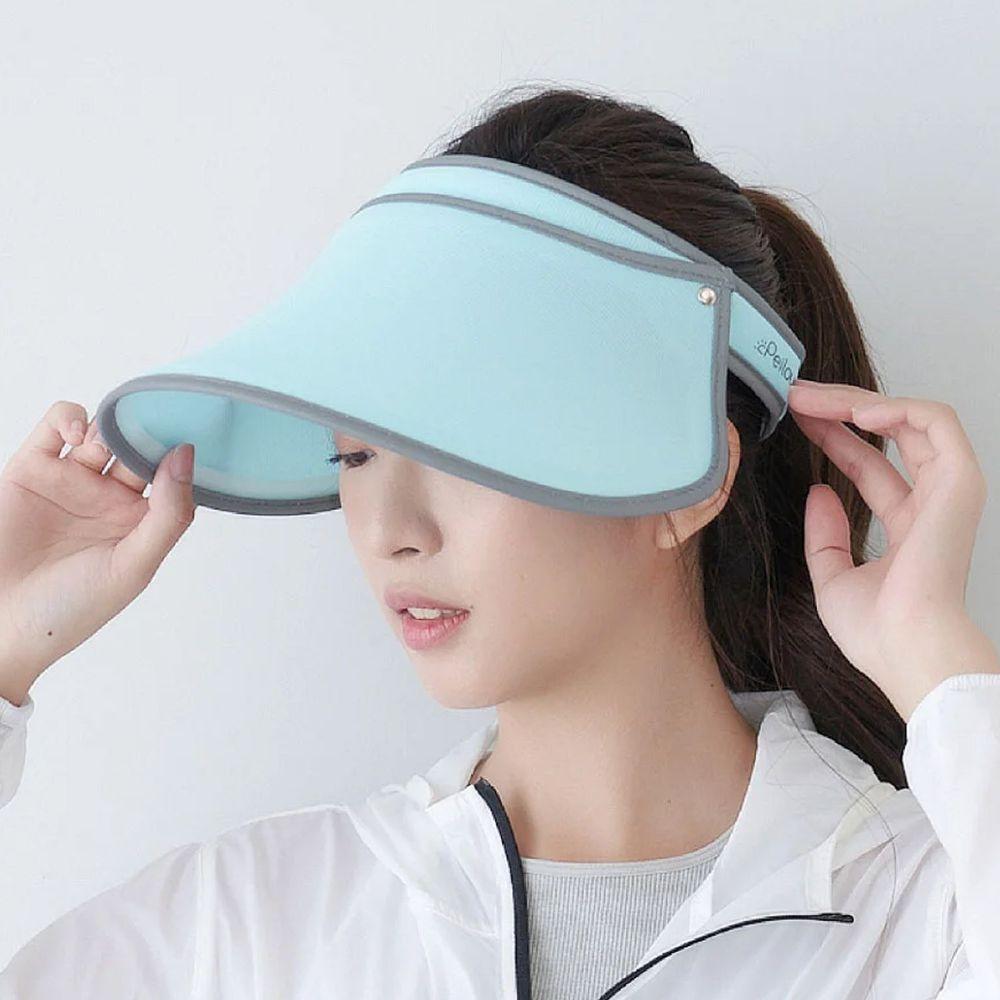 貝柔 Peilou - UPF50+光肌美顏遮陽帽-湖綠