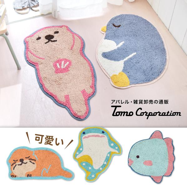 日本療癒動物地毯 / 腳踏墊~新品空運來台!