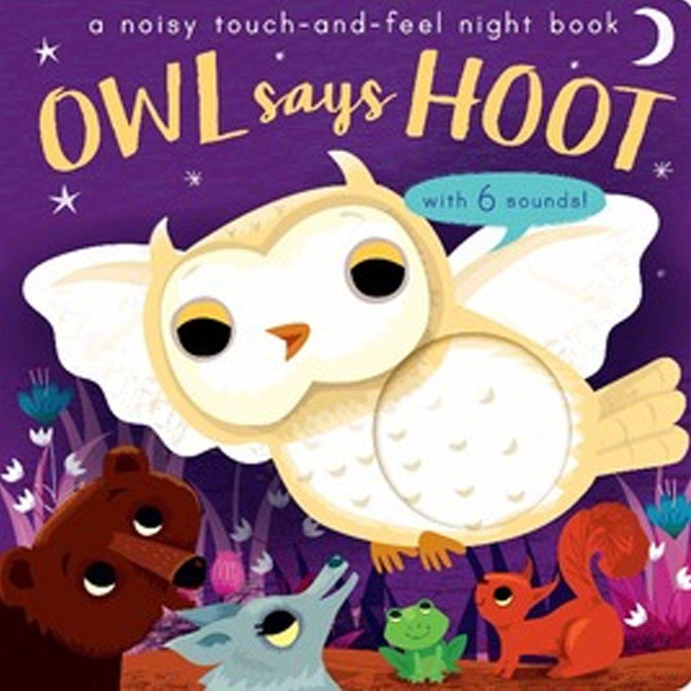 Owl says Hoot-Noisy Touch and Feel 熱鬧的森林夜晚 (觸摸音效書)