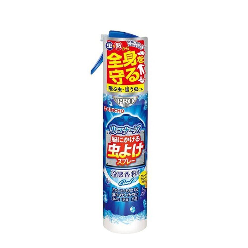 日本金鳥 KINCHO - 蟲不來-涼感衣類驅蚊噴霧-200ml