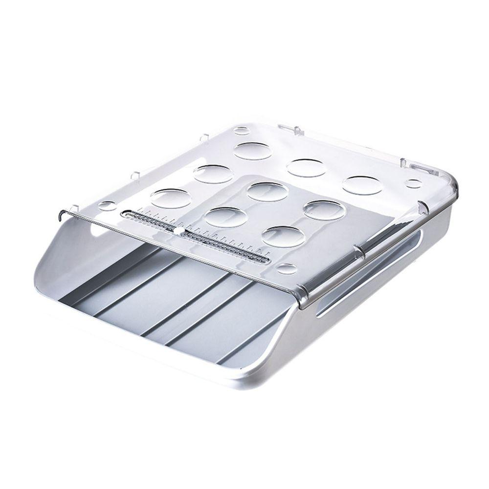 滾蛋式雞蛋收納盒-灰色 (33x23.5x7.5cm)