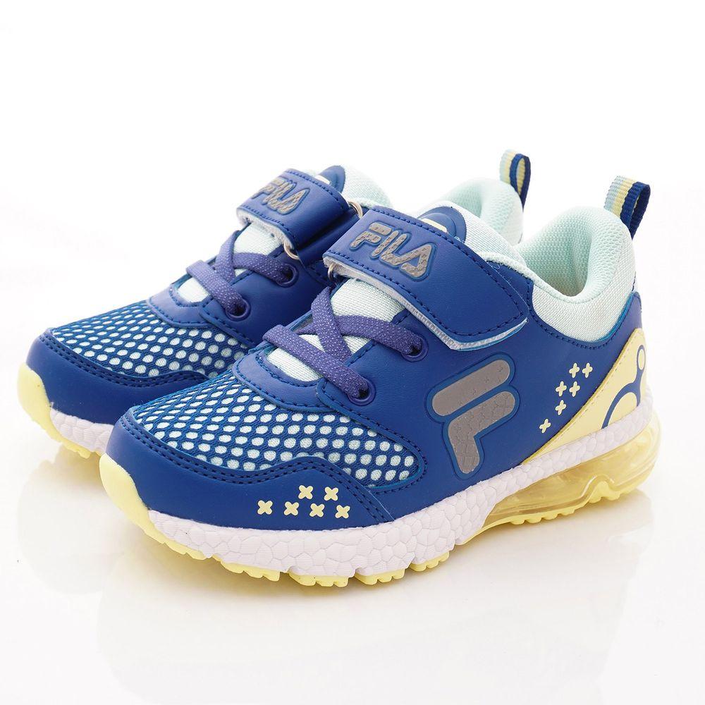 FILA - FILA童鞋-高支撐氣墊運動款(中小童段)-藍