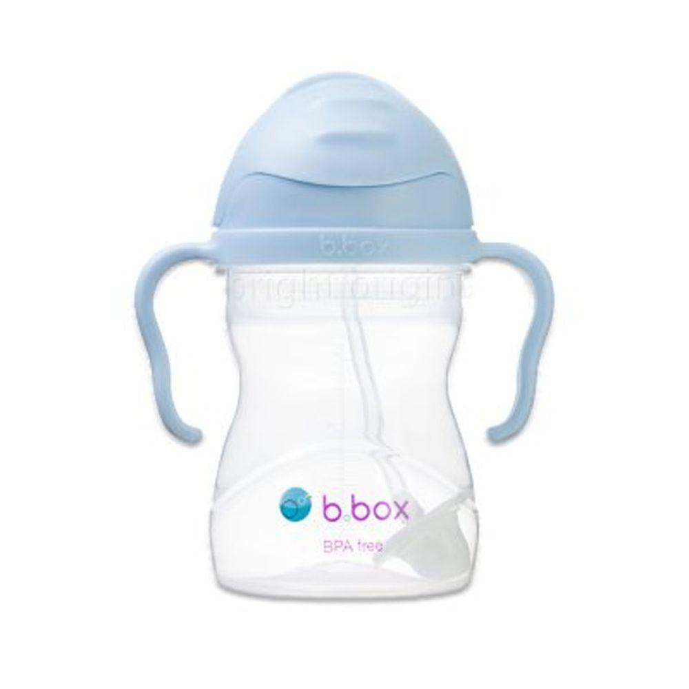 澳洲 b.box - 升級版防漏水杯-馬卡龍藍