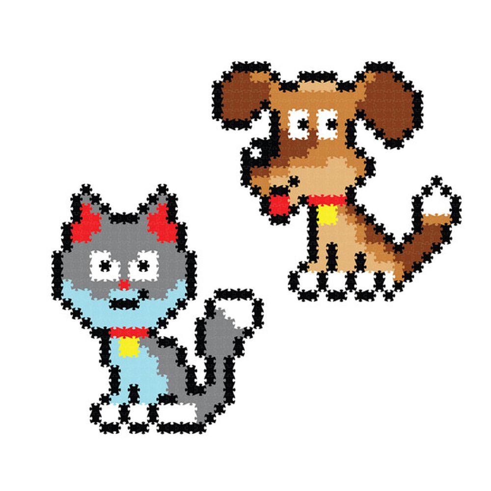 美國 FatBrain - 數碼拼圖-寵物朋友-700件