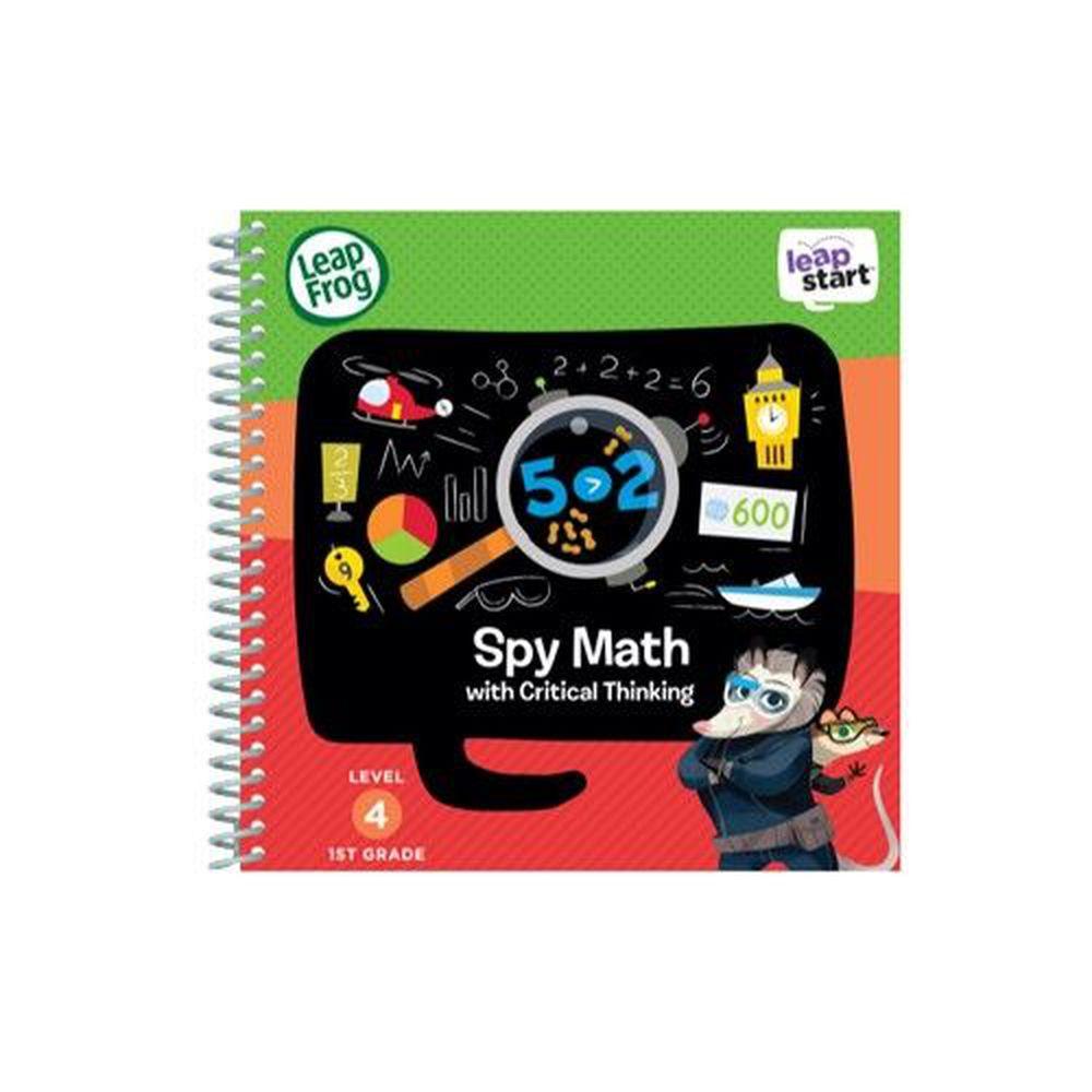 LeapFrog美國跳跳蛙 - LeapStart Sr. Books: 兒童7- 數學小偵探