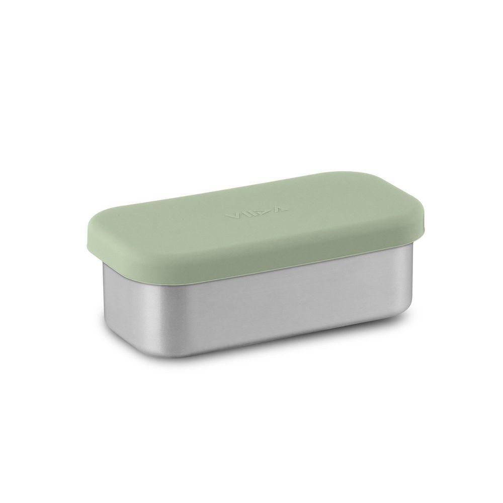 VIIDA - Kasten & Kassie分隔盒 (單入)-316抗菌不鏽鋼-綠 (220ml)