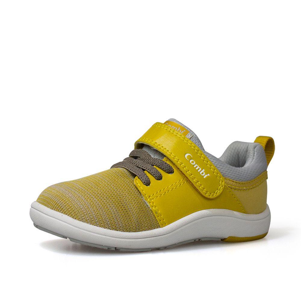 日本 Combi - 機能童鞋/學步鞋-NICEWALK 醫學級成長機能鞋-黃-A03
