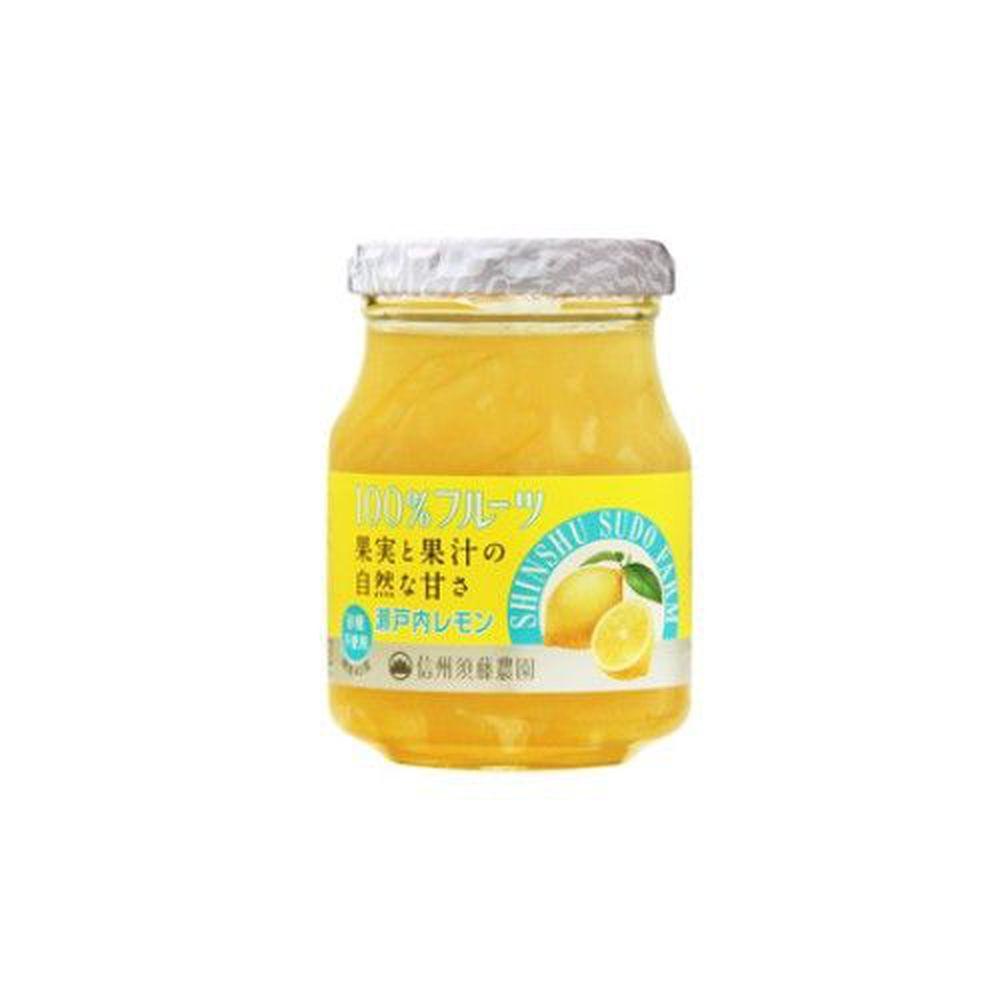 日本Sudo - 日本砂糖無添加果醬-檸檬-185g