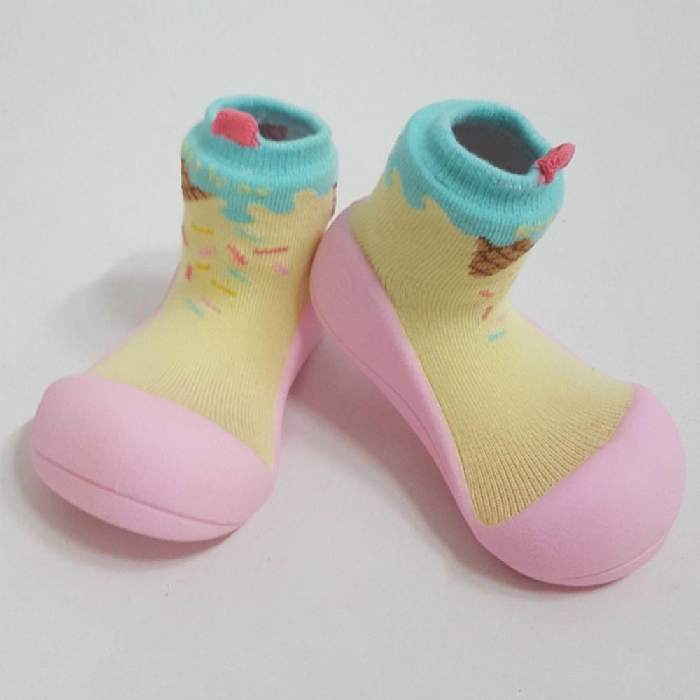 韓國 Attipas - 襪型學步鞋-冰淇淋甜心