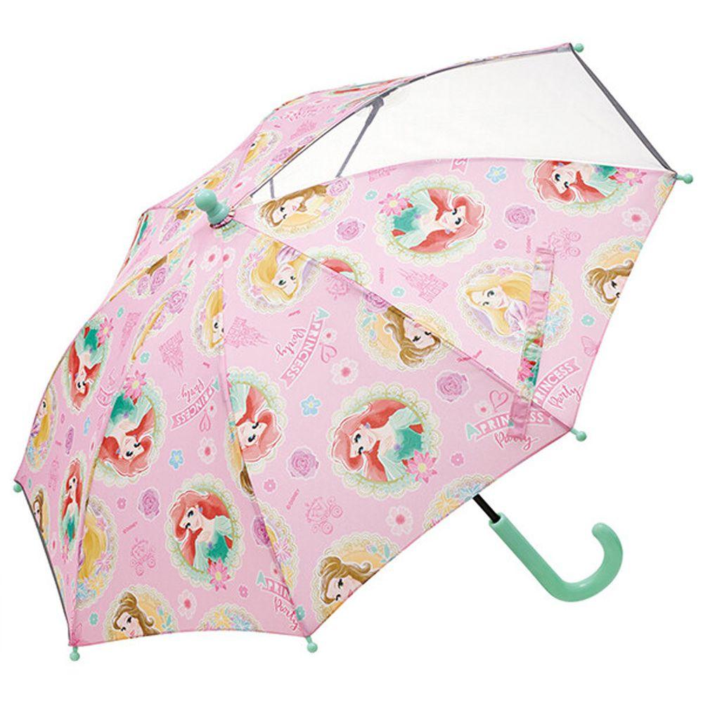 日本 SKATER 代購 - 卡通直傘-迪士尼公主-粉 (40cm(95-105cm))