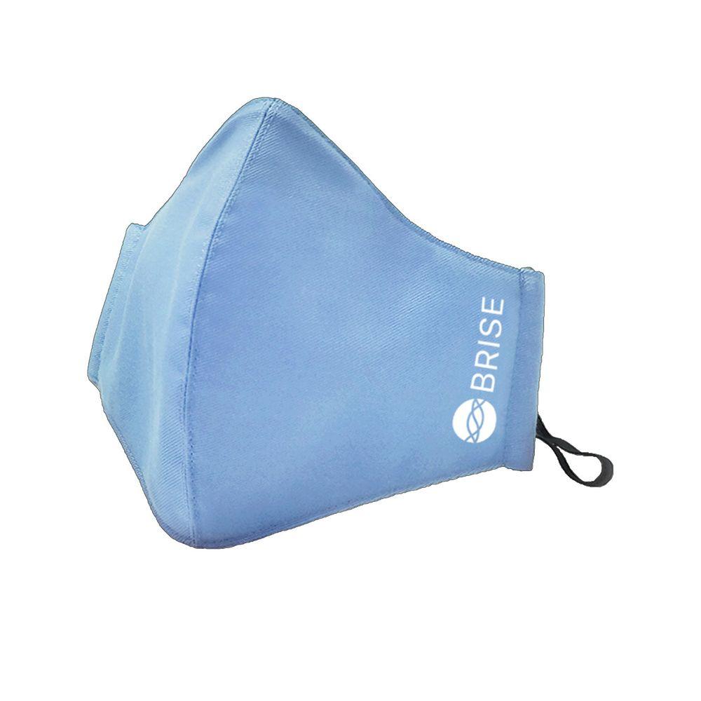 荷蘭 BRISE - 成人抗霾抗敏布織口罩(天藍)