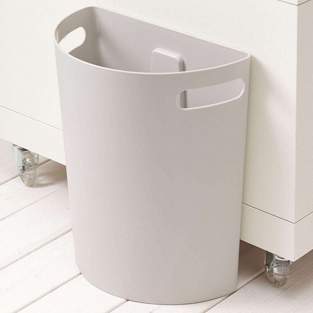 日本ISETO - Meluna壁掛式置物筒/垃圾桶-灰