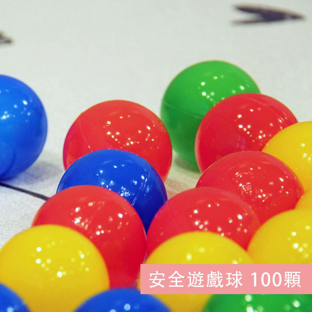 nunukids - 安全遊戲球 100顆